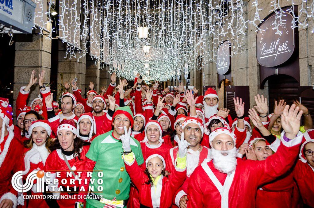 4^ edizione di Babbi Natale in Corsa a Cagliari - Sabato 23 dicembre 2017