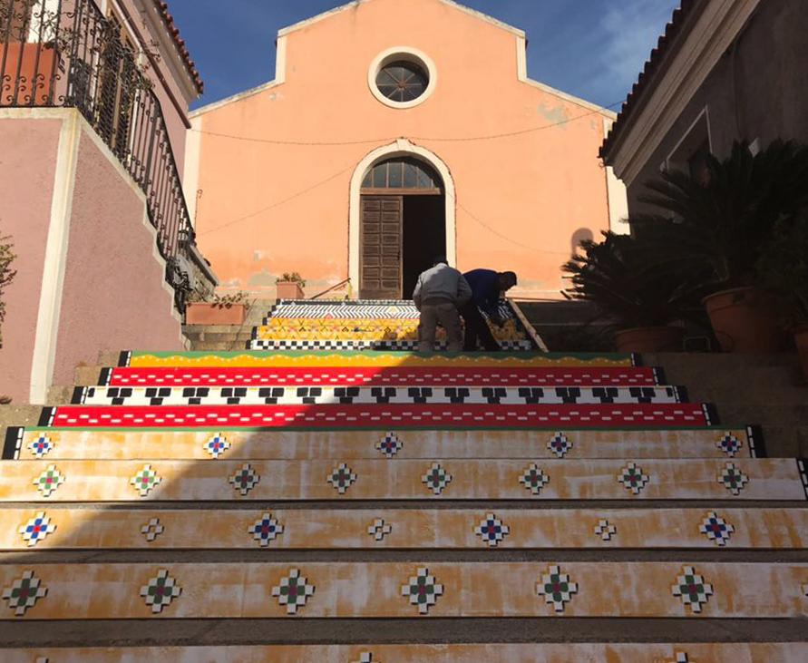 """Il nuovo """"Arazzo di Santa Lucia"""" ad Arzachena"""
