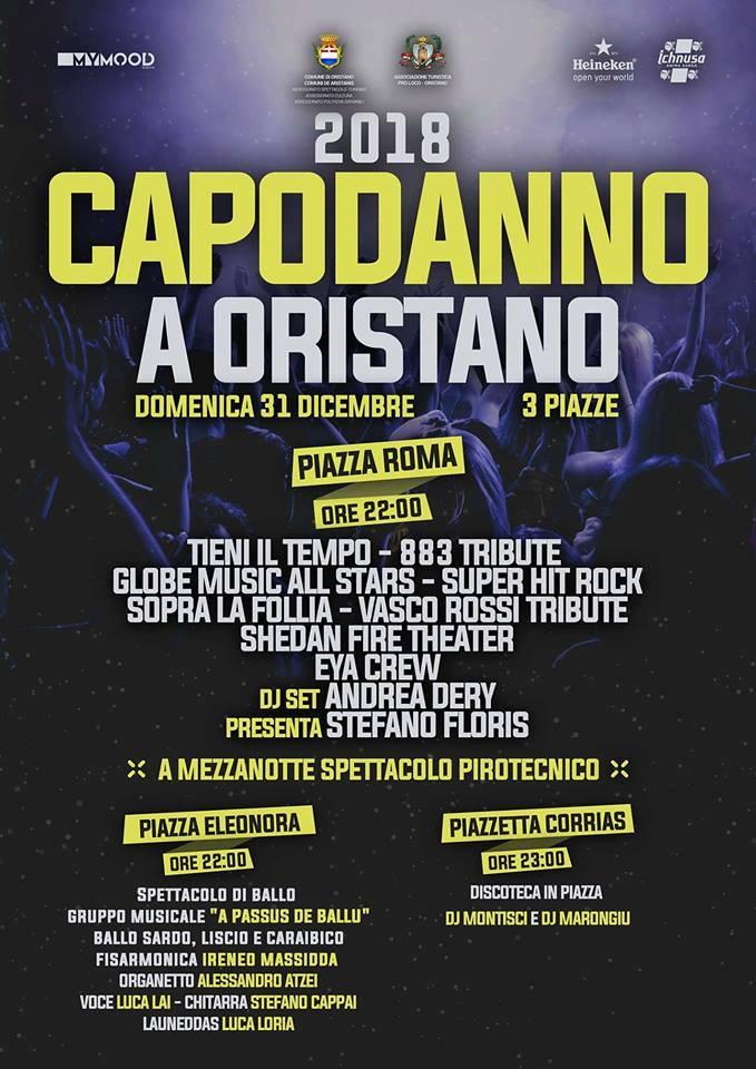 Capodanno 2018 a Oristano