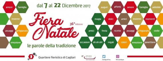 Fiera Natale 2017 a Cagliari - Dal 7 al 22 dicembre