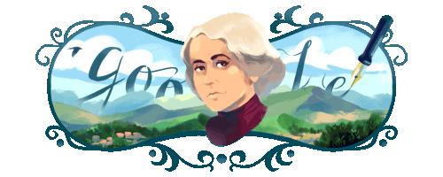 Google celebra Grazia Deledda con un doodle
