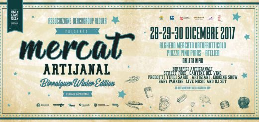 """Mercat Artijanal – Birralguer Winter Edition & Vintage Experience"" - Ad Alghero dal 28 al 30 dicembre 2017"