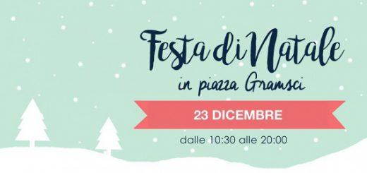 Festa di Natale in Piazza Gramsci a Cagliari - Sabato 23 dicembre 2017