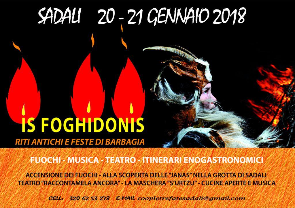 Is Foghidonis 2018 a Sadali - Sabato 20 e domenica 21 gennaio 2018