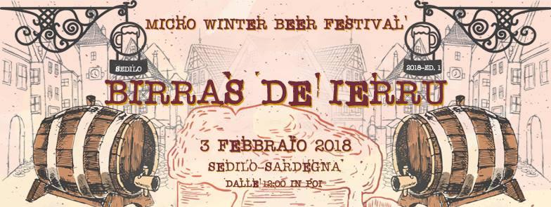 Birras De Ierru, Micro Winter Beer Festival - Sabato 3 febbraio 2018 a Sedilo
