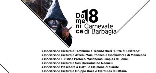 Carnevale di Barbagia 2018 – Sabato 17 e domenica 18 febbraio a Nuoro