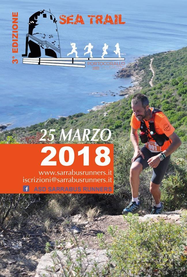 3° Sea Trail Porto Corallo - Domenica 25 marzo 2018
