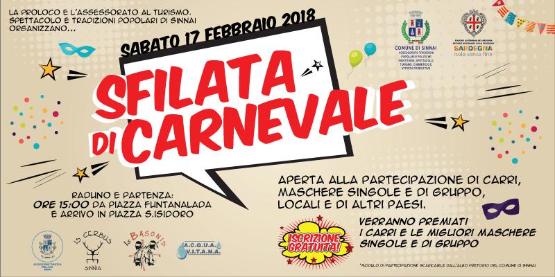 """Carnevale Sinnaese 2018 – Cranovali Sinniesu 2018"""