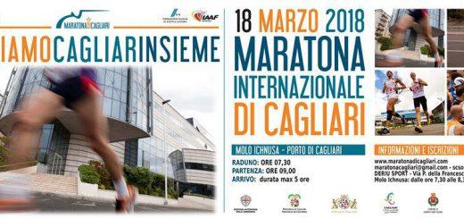 8^ edizione Maratona di Cagliari - Domenica 18 marzo 2018