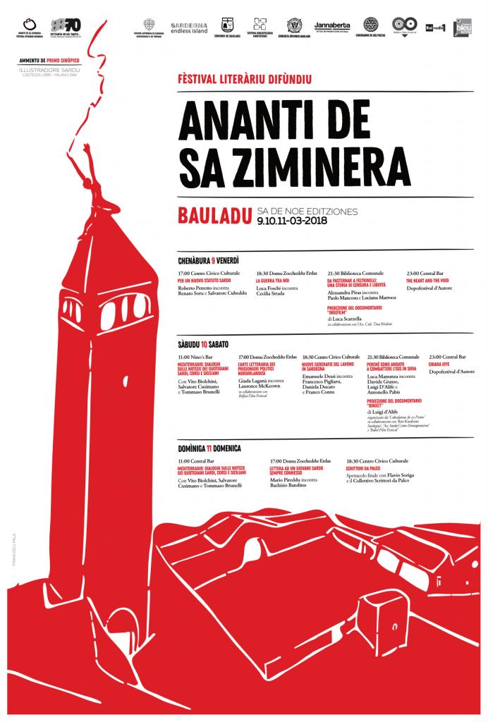 IX edizione Ananti De Sa Ziminera - Dal 9 all'11 marzo 2018 a Bauladu