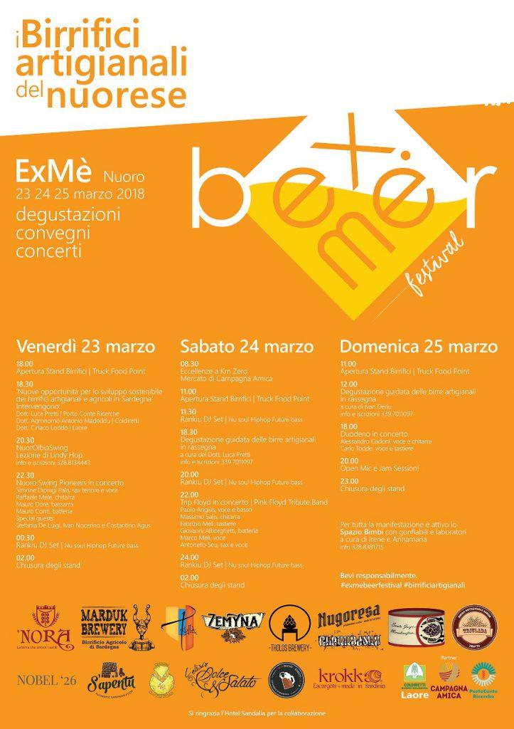 ExMè Beer Festival: iI birrifici artigianali del nuorese