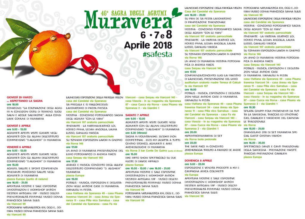 46^ Sagra degli Agrumi di Muravera - Dal 6 all'8 aprile 2018