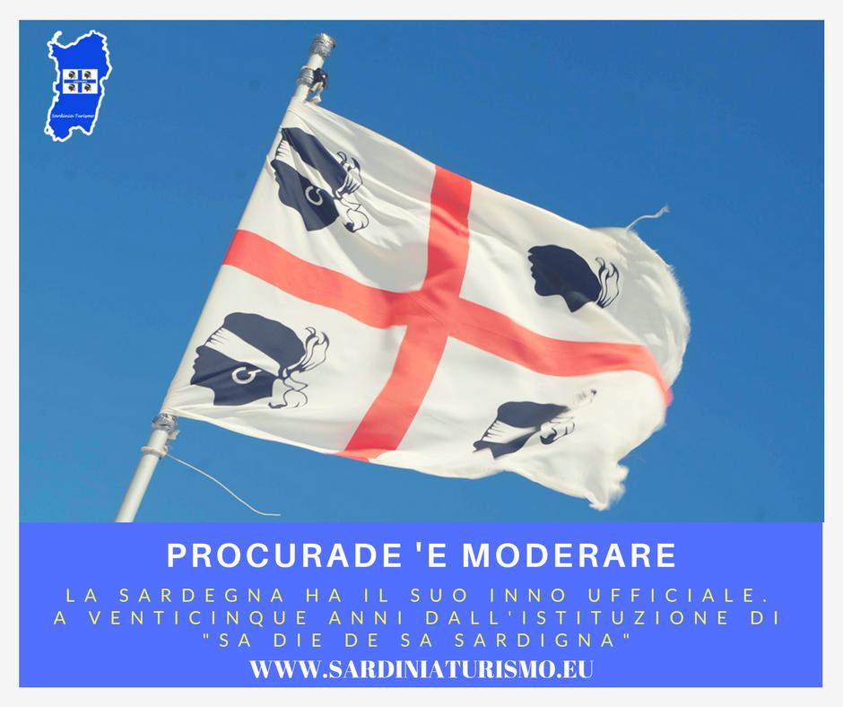 La Sardegna ha il suo inno ufficiale: Procurade 'e moderare