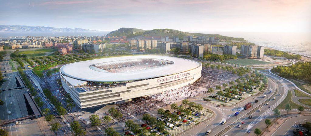Stadio di Cagliari: il concept di Sportium per il nuovo stadio del Cagliari Calcio