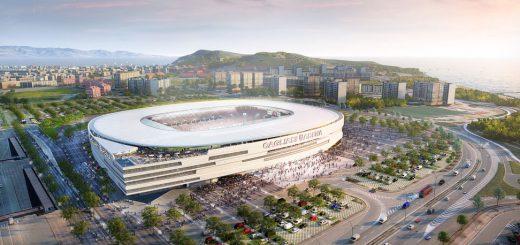 Il concept di Sportium per il nuovo stadio del Cagliari Calcio