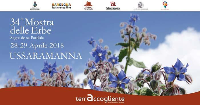 34^ Mostra delle erbe e Sagra de sa Pardula - Ad Ussaramanna il 28 e 29 aprile 2018