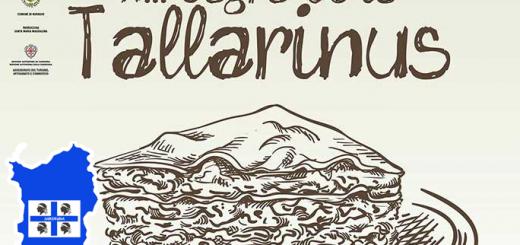 XIII Sagra de is Tallarinus a Nuragus - Domenica 20 maggio 2018