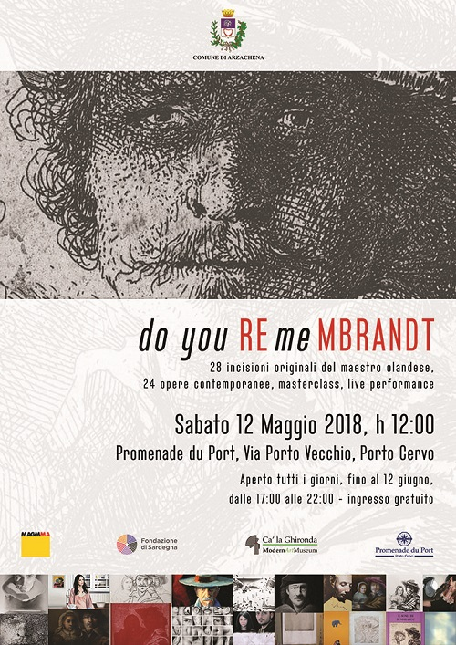 "A Porto Cervo si celebra Rembrandt - ""Do you Remembrandt"""