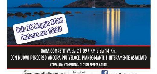 9^ Maratonina dei Fenici a Pula - 26 maggio 2018