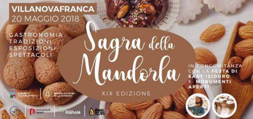 19^ Sagra della Mandorla a Villanovafranca - Domenica 20 maggio 2018