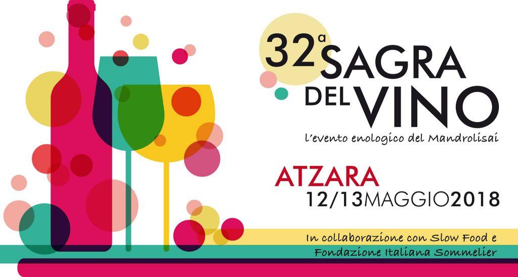 Sagra del Vino Atzara 2018 - Sabato 12 e domenica 13 maggio