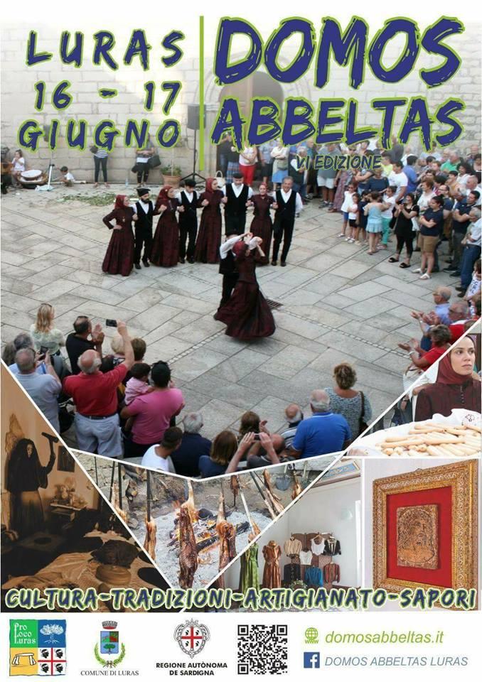 Domos Abbeltas 2018 - A Luras il 16 e 17 giugno