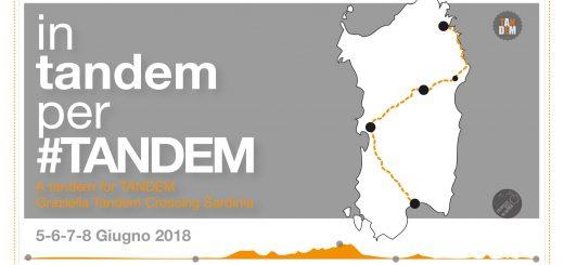 In tandem per #TANDEM: da Cagliari ad Olbia in sella ad un tandem Graziella
