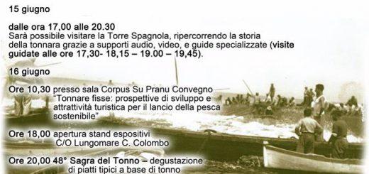 48^ Sagra del Tonno a Portoscuso - 15 e 16 giugno 2018