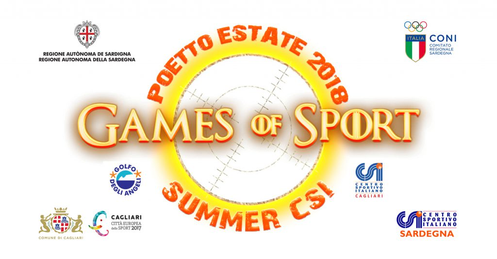 Games of Sport 2018 a Cagliari