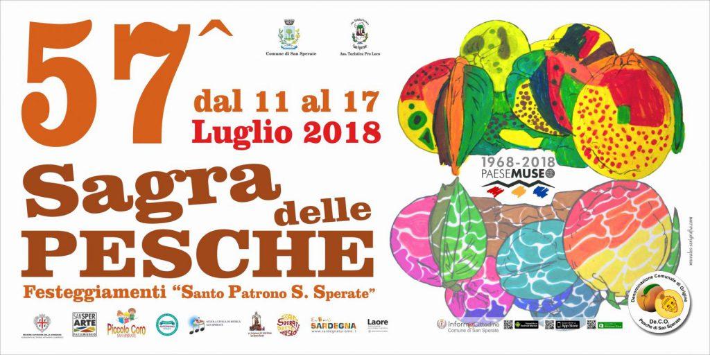 Sagra delle pesche a San Sperate - Dall'11 al 17 luglio 2018