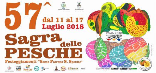 Sagra della pesca a San Sperate - Dall'11 al 17 luglio 2018