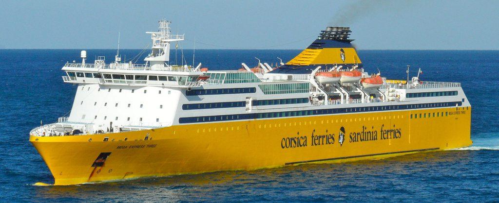 La Mega ExpressThree di Sardinia Ferries