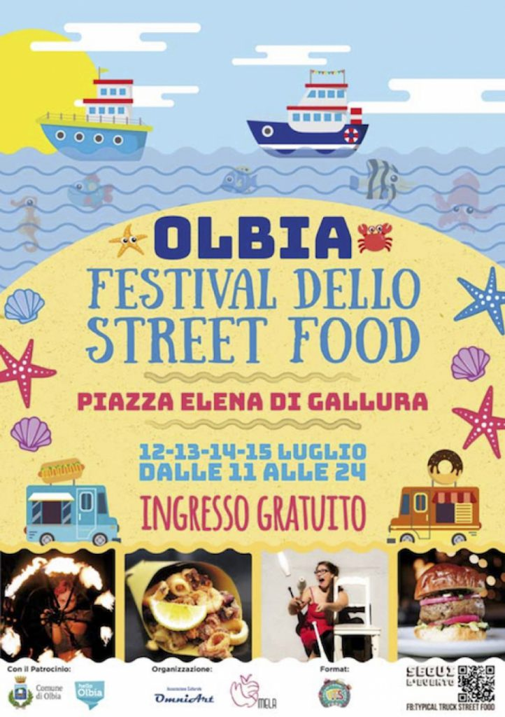 Festival dello street food a Olbia - Dal 12 al 15 luglio 2018