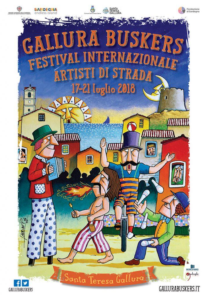 VI edizione del Gallura Buskers Festival