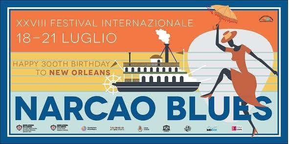 XXVIII edizione festival Narcao Blues: dal 18 al 21 luglio a Narcao