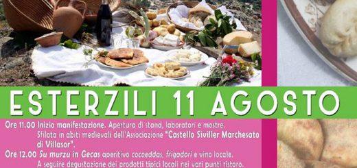 """""""Sagra de su frigadori e de is cocoeddas"""" - A Esterzili l'11 agosto 2018"""