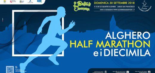 2^ edizione Alghero Half Marathon e i Diecimila - Domenica 30 settembre 2018