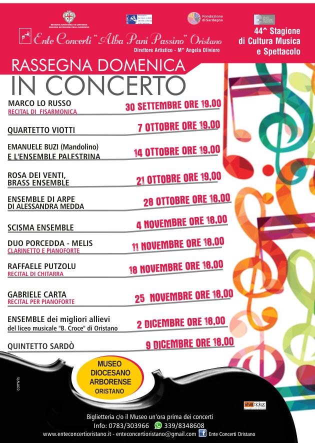 Domenica in concerto 2018