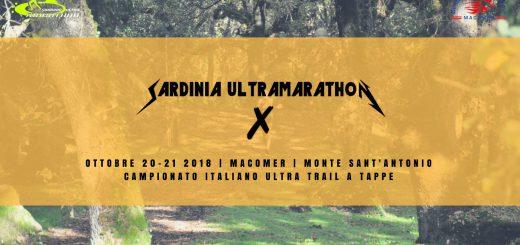 X Sardinia Ultramarathon - Sabato 20 e domenica 21 Ottobre 2018