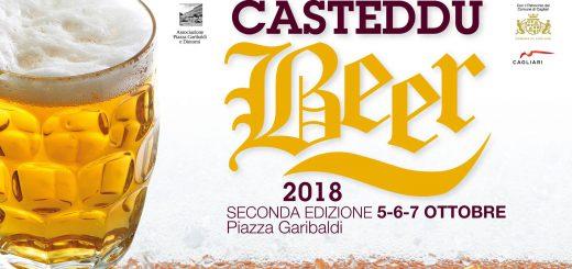 Seconda edizione Casteddu Beer - Dal 5 al 7 ottobre 2018