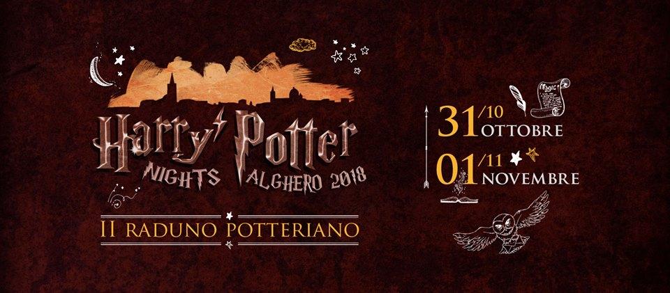 Harry Potter Nights 2018 - Ad Alghero il 31 ottobre e 1 novembre