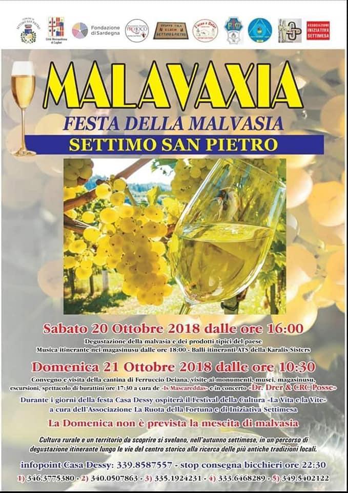 VII edizione Festa della Malvasia a Settimo San Pietro