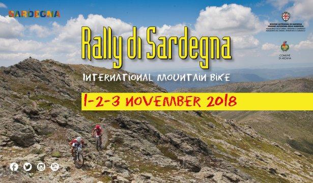7° Rally di Sardegna Bike - Ad Arzana dall'1 al 3 novembre 2018