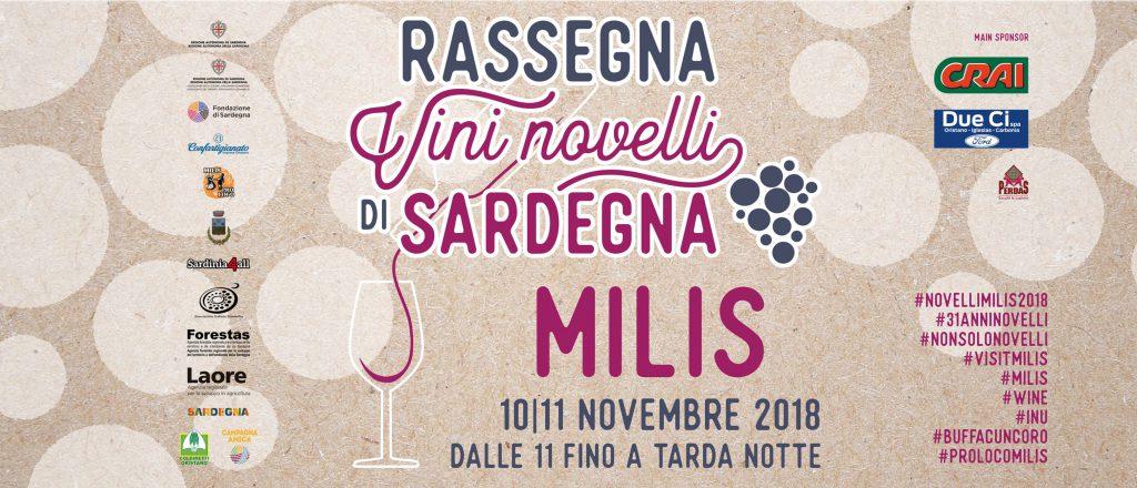 31^ Rassegna Vini Novelli di Sardegna - A Milis