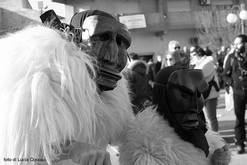 Merdules, maschere di Ottana, faranno la loro prima apparizione per Sant'Antonio Abate