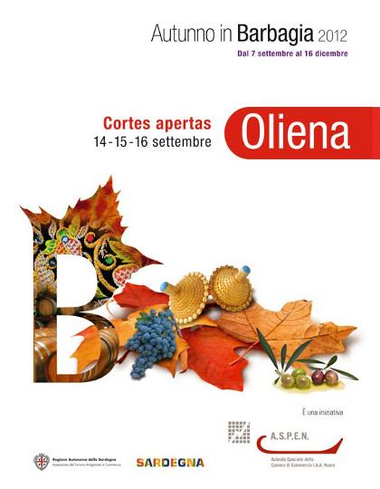 Cortes Apertas - Ad Oliena dal 14 al 16 Settembre 2012