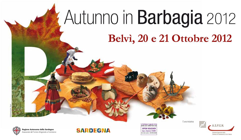 Autunno in Barbagia 2012 a Belvì - 20 e 21 Ottobre
