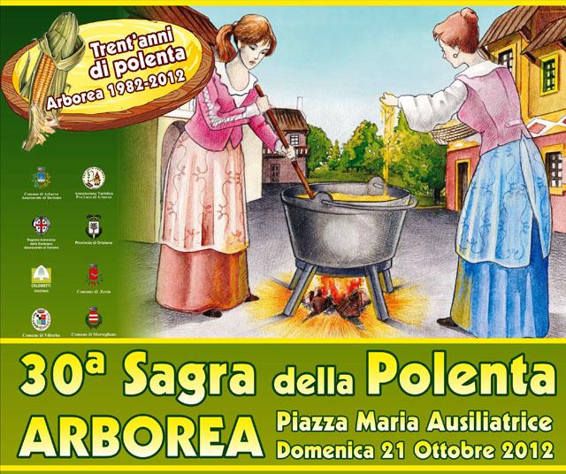 Sagra della Polenta 2012 ad Arborea Domenica 21 Ottobre