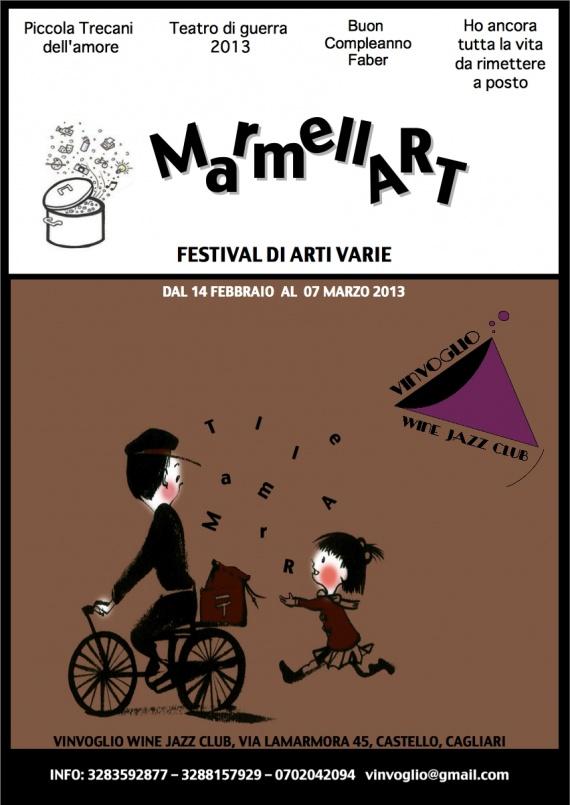 Marmellart - A Cagliari fino a 7 Marzo