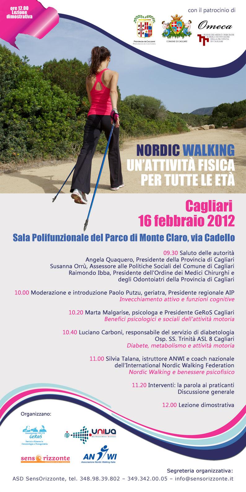 Convegno Nordic Walking a Cagliari